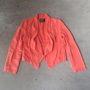 Sanctuary Orange Jacket